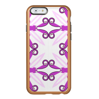 Abstract Purple Awareness Butterfly Incipio Feather® Shine iPhone 6 Case