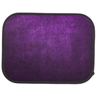 Abstract Purple Background Or Paper With Bright Car Floor Mat