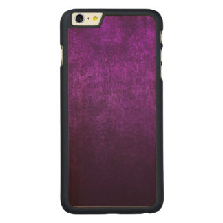 Abstract Purple Background Or Paper With Bright Carved Maple iPhone 6 Plus Case