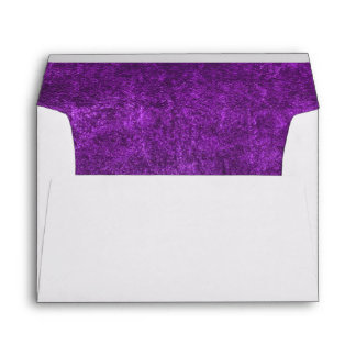 Abstract Purple Background Or Paper With Bright Envelope