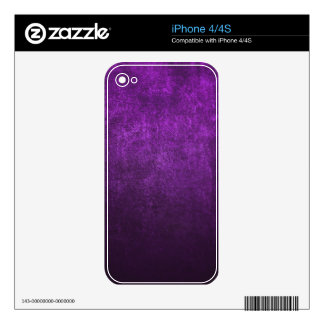 Abstract Purple Background Or Paper With Bright iPhone 4 Decals