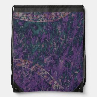 Abstract Purple Batik Backpack