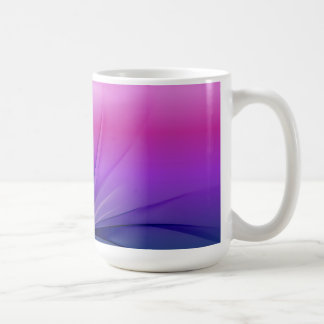 Abstract Purple Blue Background Vector Graphic  DI Coffee Mug