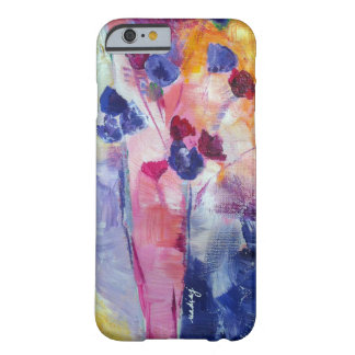 Abstract Purple Flowers Phone Case iPhone 5 Cases