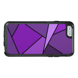 Abstract Purple Geometric Shapes OtterBox iPhone 6/6s Case