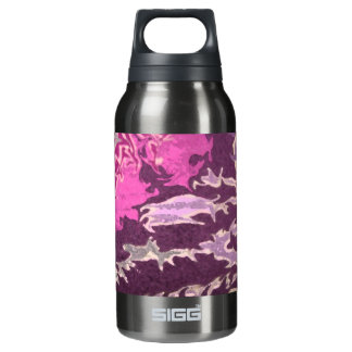Abstract purple Liberty Bottle