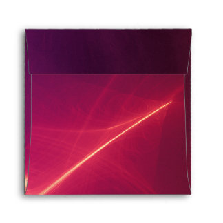 Abstract Purple Light Wave Envelope