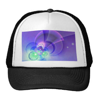 abstract purple no. 2 created by Tutti Trucker Hat