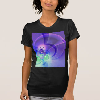abstract purple no 2 created by Tutti Shirt