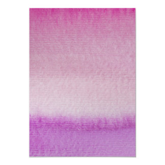 Abstract Purple Ombre Watercolor Wash Card