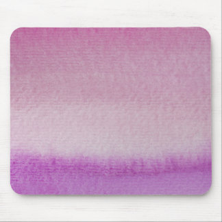 Abstract Purple Ombre Watercolor Wash Mouse Pad
