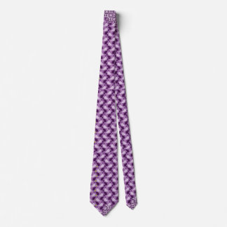 abstract purple tie