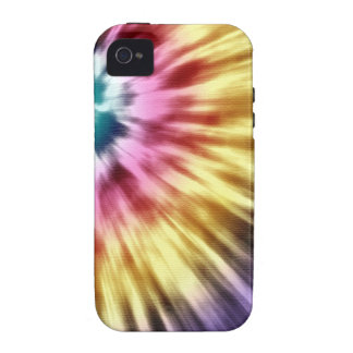 Abstract Purple Tie Dye Case-Mate iPhone 4 Cover