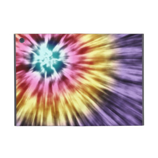 Abstract Purple Tie Dye Case For iPad Mini