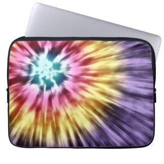 Abstract Purple Tie Dye Laptop Sleeve