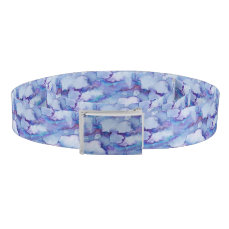 Abstract Purple Watercolor Belt