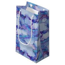 Abstract Purple Watercolor Small Gift Bag