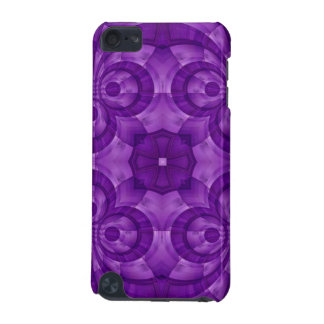 Abstract Purple Wood Pattern iPod Touch (5th Generation) Cases