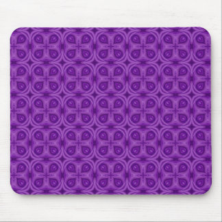 Abstract Purple Wood Pattern Mouse Pad