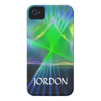 Abstract Pyramid and Energy Power iPhone 4 Case