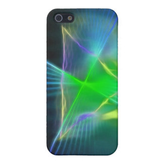 Abstract Pyramid and Energy Power iPhone SE/5/5s Case