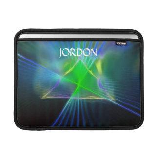 Abstract Pyramid and Energy Power MacBook Air Sleeve