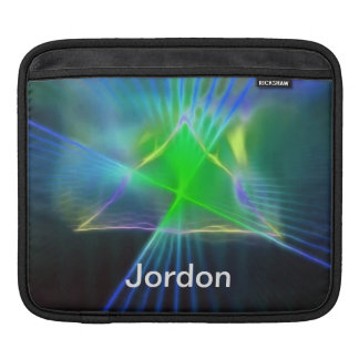 Abstract Pyramid and Energy Power Sleeve For iPads