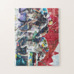 """Abstract Race Horses Collage Jigsaw Puzzle<br><div class=""""desc"""">Abstract Race Horses Collage &quot;horses and riders&quot;, &quot;derby horse&quot;, &quot;derby art&quot;, racehorse, collage, horse, turf, &quot;horse racing&quot;, derby, jockey, montage, hippodrome, &quot;horse race&quot;, sport, man, speed, animal, white, horses, competition, fast, running, racing, hobby, race, illustration, equestrian, rider, stallion, competitive, equine, countryside, horseman, racetrack, &quot;horse races&quot;, &quot;horseback&quot;, &quot;derby montage&quot;, &quot;derby party&quot;,...</div>"""