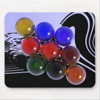 Abstract Rack Billiards 101 Mouse Pad