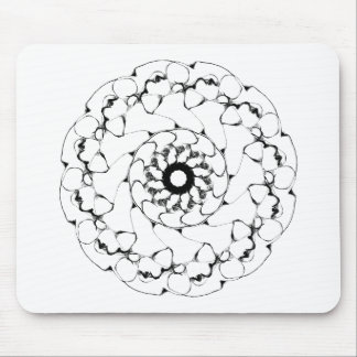Abstract Radial Design- Bubbles #1 Mousepad