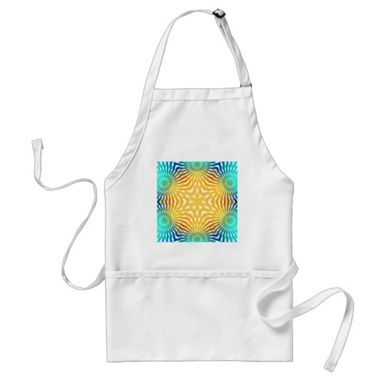 Abstract Radial Lines: Adult Apron