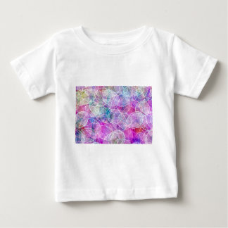 Abstract Rainbow Bubble Art Print Baby T-Shirt