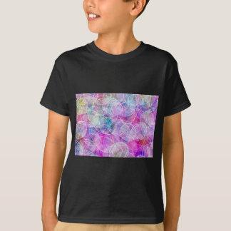 Abstract Rainbow Bubble Art Print T-Shirt