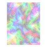 Abstract Rainbow Colors Letterhead