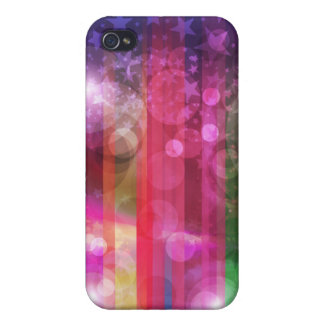 Abstract Rainbow Covers For iPhone 4