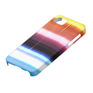 Abstract rainbow crystal iPhone 5 case