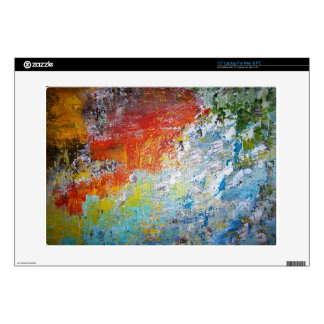 Abstract Rainbow Decal For Laptop