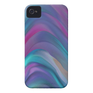 Abstract Rainbow Digital Painting iPhone 4 Cover