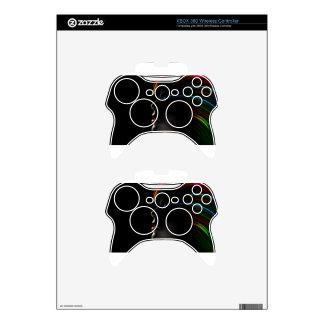 Abstract Rainbow Hair Girl Xbox 360 Controller Decal