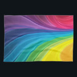 "Abstract Rainbow Kitchen Towel<br><div class=""desc"">Abstract Rainbow Kitchen Towel</div>"