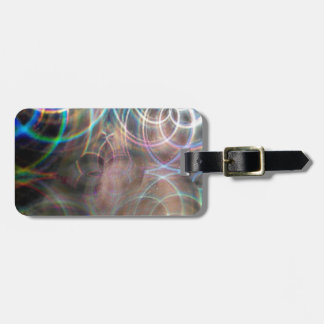 Abstract Rainbow Light Patterns Luggage Tag