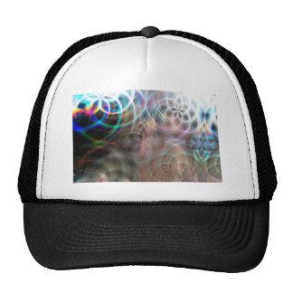 Abstract Rainbow Light Patterns Trucker Hat