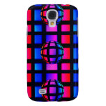 Abstract Rainbow Marble Galaxy S4 Covers
