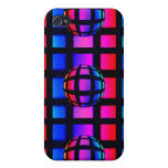 Abstract Rainbow Marble iPhone 4/4S Covers