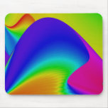 Abstract Rainbow Mouse Pad