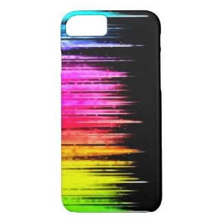 Abstract Rainbow Paint Splash iPhone 7 Case