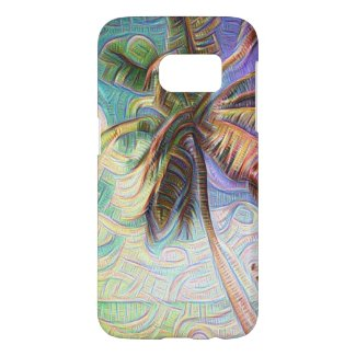 Abstract Rainbow Palm Tree Case-Mate Samsung Galaxy Case