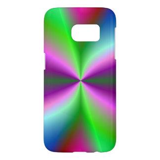 Abstract Rainbow Pinwheel Samsung Galaxy S7 Case
