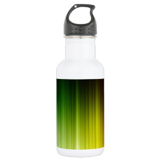 Abstract Rainbow Red Blue Greed Yellow Orange Water Bottle