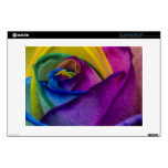 "Abstract Rainbow Rose Skins For 13"" Laptops"